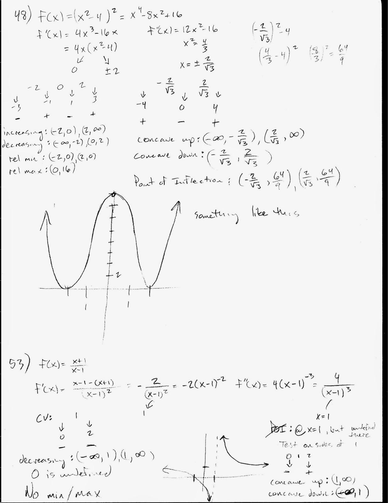 Mr Suominen S Math Homepage Ap Calculus 12 10 14