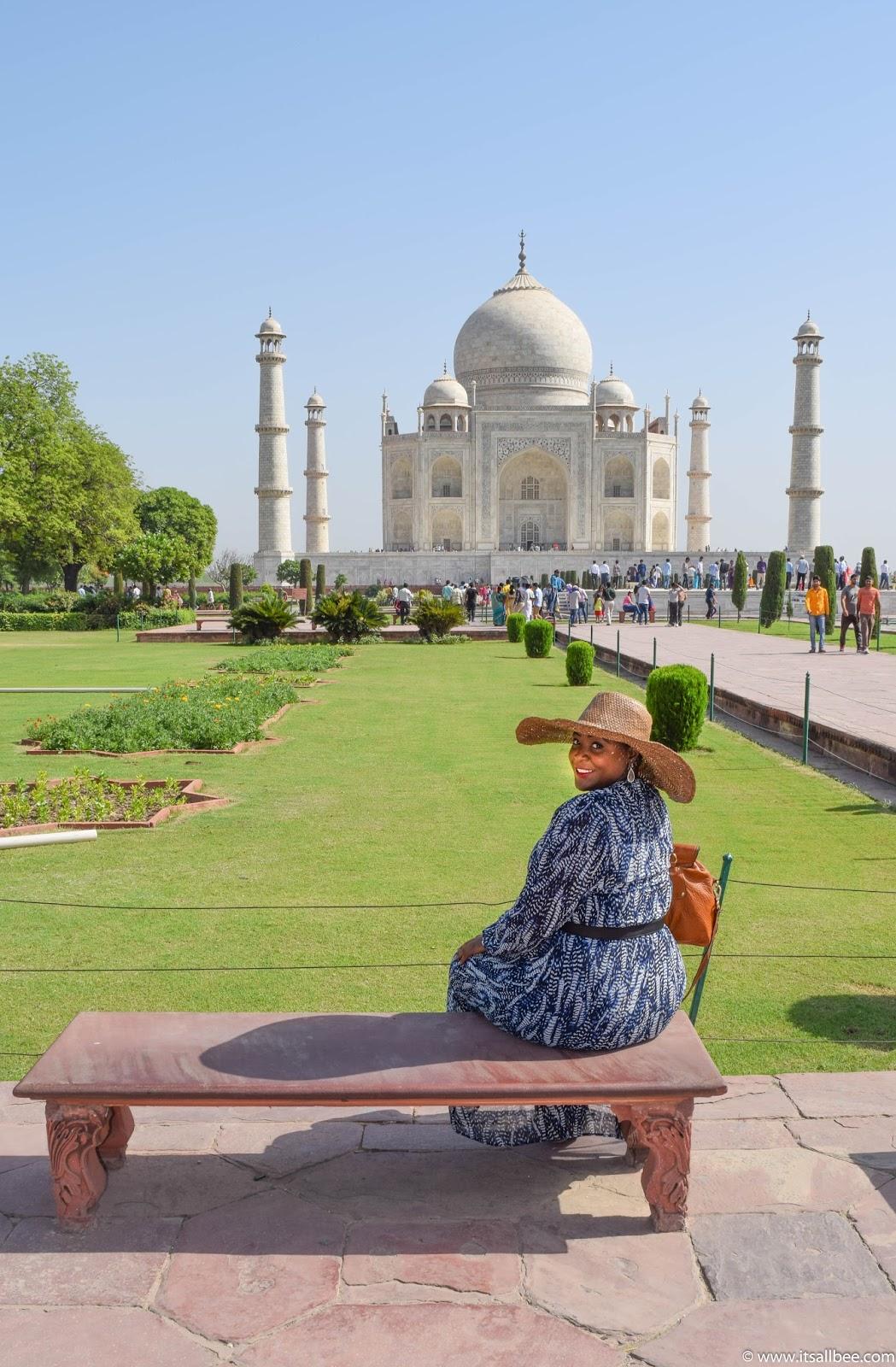 Taj Mahal,  Agra - India. Photo by Bianca - www.itsallbee.com