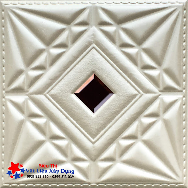 Tấm ốp PVC Da 3D