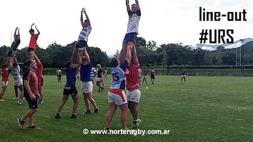 Entrenando Line-Out #Mayuatitos