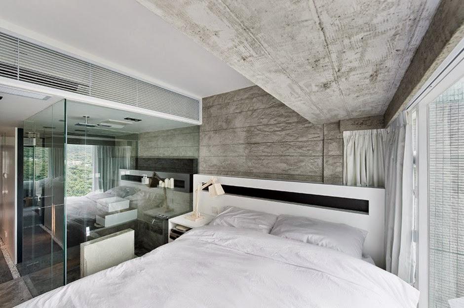 Interior de una casa moderna en gris on Interiores De Casas Modernas  id=61672