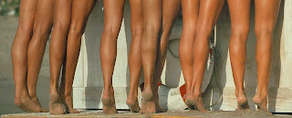 women calves