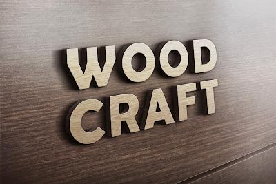 3D Wooden Logo