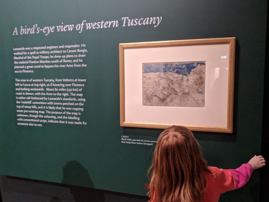 5 Reasons to Visit the Leonardo da Vinci: A Life in Drawing Exhibition at Sunderland Museum & Winter Gardens with Kids - Tuscany map