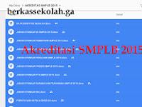 Juknis, Skoring, Instrument Akreditasi SMPLB