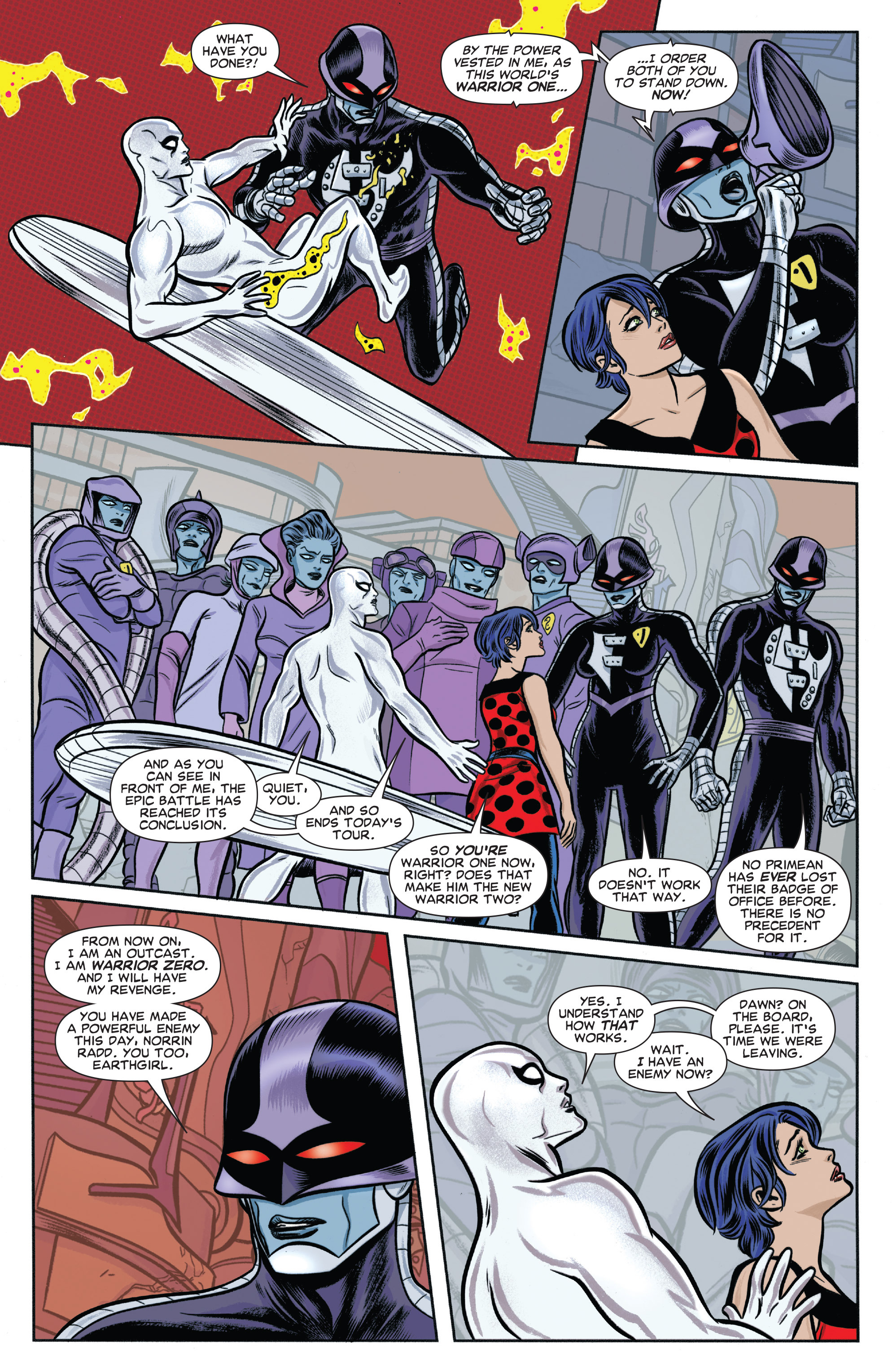 Read online Silver Surfer (2014) comic -  Issue #6 - 19