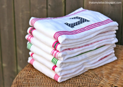 diy baby girl burp cloths