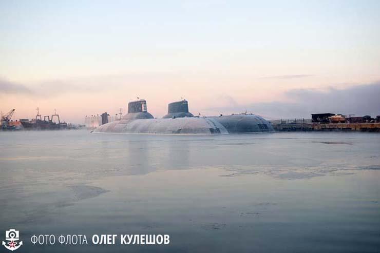 Kapal selam nuklir Rusia