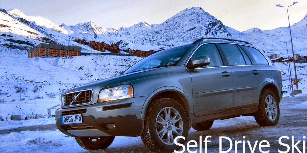 Self Drive Ski - Driving to the Alps