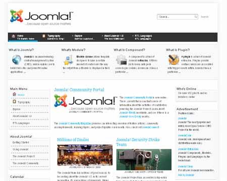 Free Business 7 Joomla 2.5 / 1.7 Templates