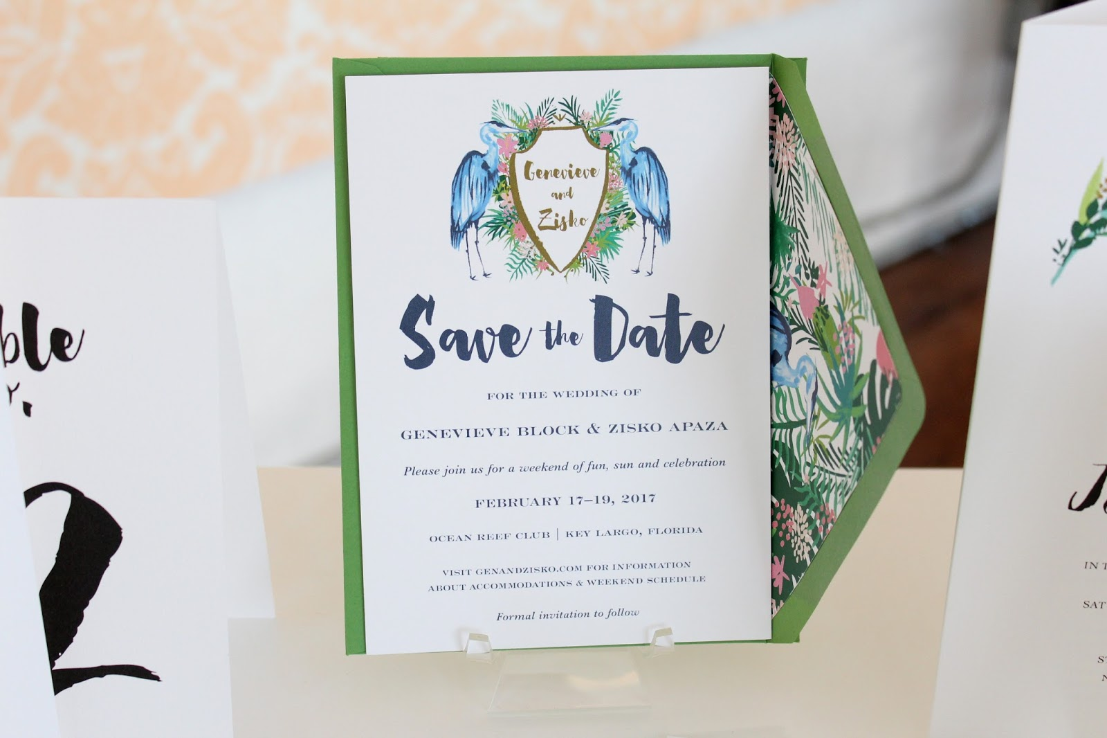 For the Love of Character: Wedding Event - Invitation Launch Party