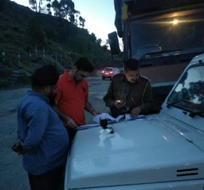 State Taxes Department Carries Out Election related  enforcement activities at Poonch | Pir Panjal Post