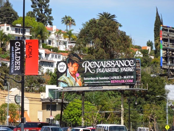 Renaissance Pleasure Faire 2014 billboard