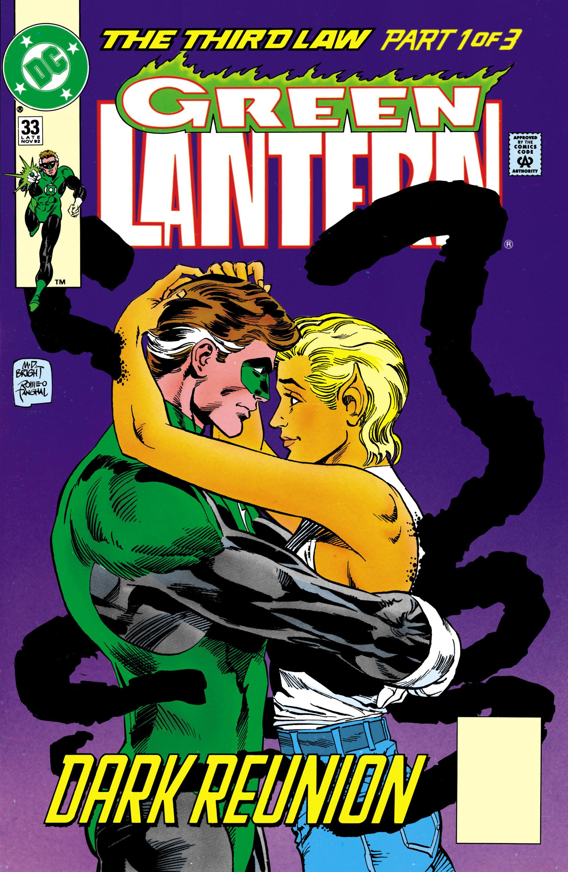 Green Lantern (1990) 33 Page 1