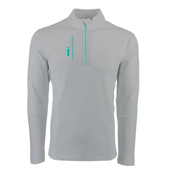 Adidas Men's Mixed Media 1/4 Zip Jacket