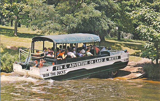 General Manager at Original Wisconsin Ducks®, Dan Gavinski, had to reroute their land-to-water tours last summer, bypassing the lake and spending more time on the Wisconsin River. This summer, the Duck tour will once again include the famous splashdown in Lake Delton.