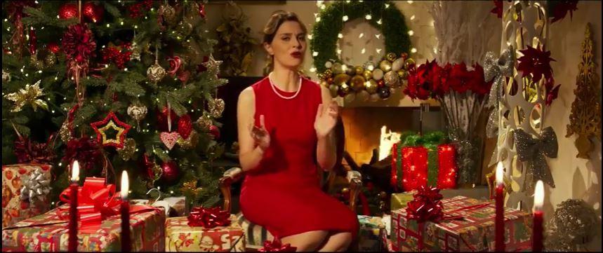 Paola Cortellesi Subito.it pubblicità di Natale con Foto - Testimonial Spot Pubblicitario 2016