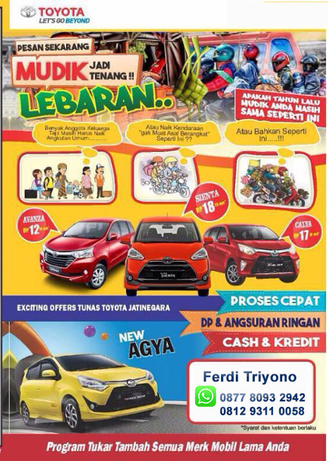 Promo Toyota Duren Sawit Jakarta Timur