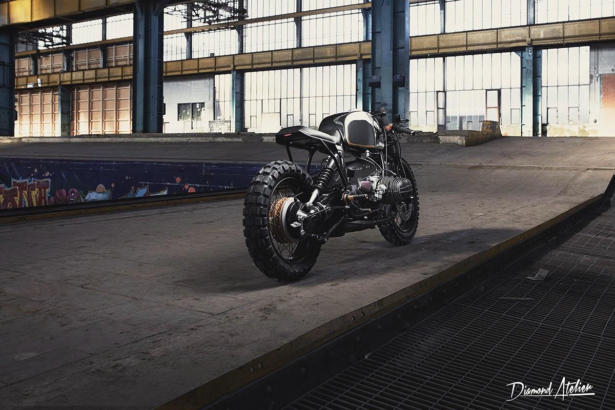 BMW R100R Tracker by Diamond Atelier