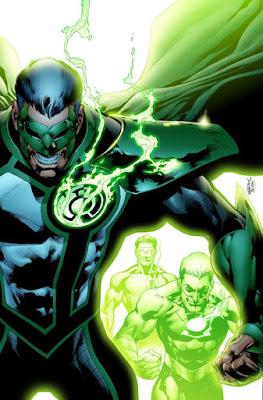Ketika Hal Jordan dan Kyle Rayner Dipengaruhi Parallax