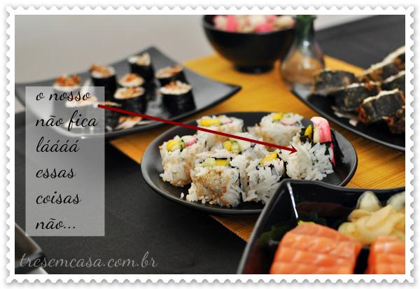 receita sushi california