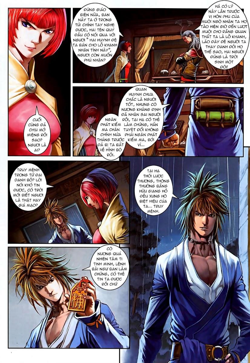 Ôn Thuỵ An Quần Hiệp Truyện Phần 2 chapter 6 trang 9