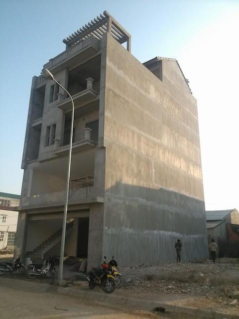 Nhà bê tông: Tường phẳng - Sàn phẳng