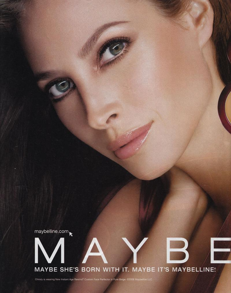 christy turlington maybelline - photo #2