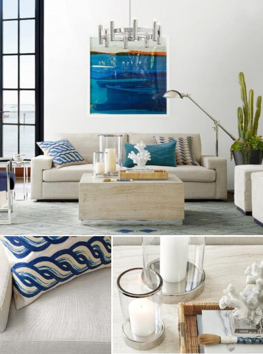 Modern Coastal Living Room Design Ideas, Coastal Living Room Decorating Ideas