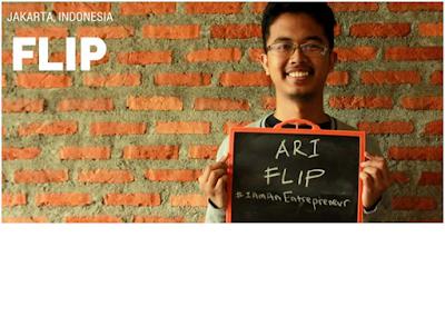 Rafi Putra Arriyan~ Founder Aplikasi Flip Transfer Antar Bank Bebas Biaya
