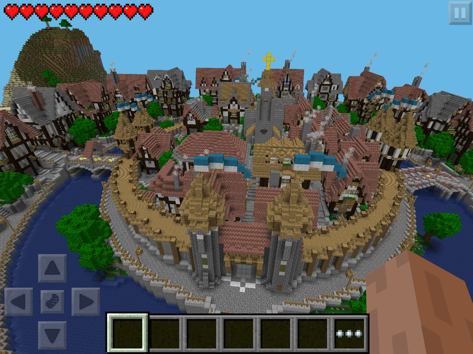 Mincraft Pe Maps Minecraft PE Worlds: Download Maps