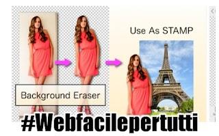 Background Eraser | Applicazione per rimuovere facilmente lo sfondo dalle fotografie