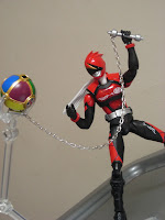 SH Figuarts Akiba Blue Season 2 Tsuu Bandai Tamashii Nations Luna Akibaranger Red Hurricane Ball
