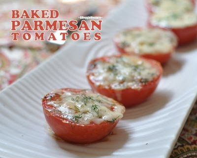 Baked Parmesan Tomatoes Recipe