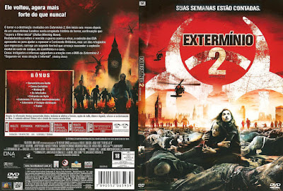 Filme Extermínio 2 (28 Weeks Later) DVD Capa