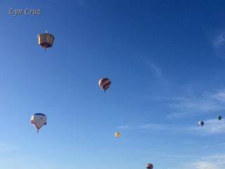 Pinoy Solo Hiker - Hot Air Balloon Festival