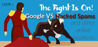 The Fight is On! Google vs Hacked Spams