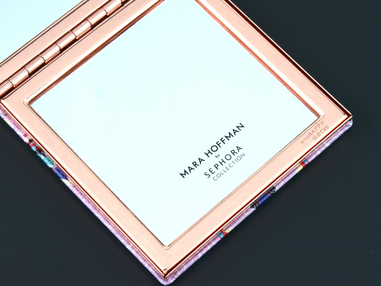 sephora compact mirror. sephora mara hoffman kaleidescape compact mirror ($20 cad): this is a beautiful about the size of small eyeshadow quad.