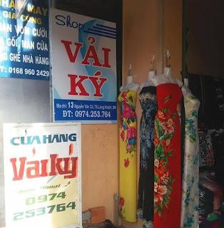 Chuyên bán các loại VẢI KÝ thời trang tại SHOP vải Long Khánh