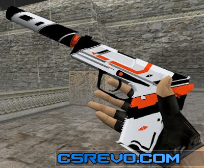 Skin USP - Asiimov - HD CS 1.6