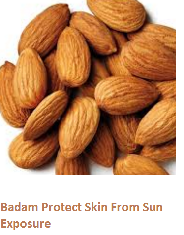 Health Benefits of Almond or Badam Protect Skin From Sun Exposure