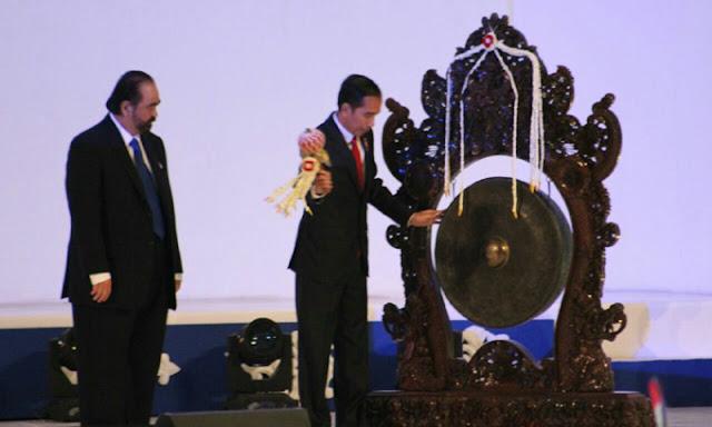 Hmmm... Presiden Jokowi Jadi Tokoh Utama di HUT Ke 6 dan Rakernas NasDem