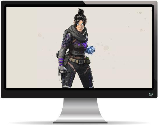 Apex Legends Wraith Artwork - Fond d'écran en Full HD 1080p