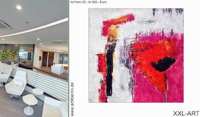 Sinnliche Wandbilder, Gemälde voller Strahlkraft, Acrylmalerei junger begabter Berliner Künstler günstig kaufen!