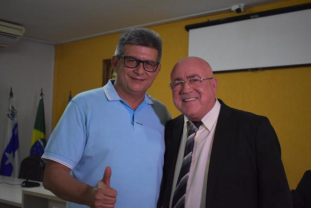 Ex-governador Zé Filho prestigia eleição da Câmara Municipal de Parnaíba