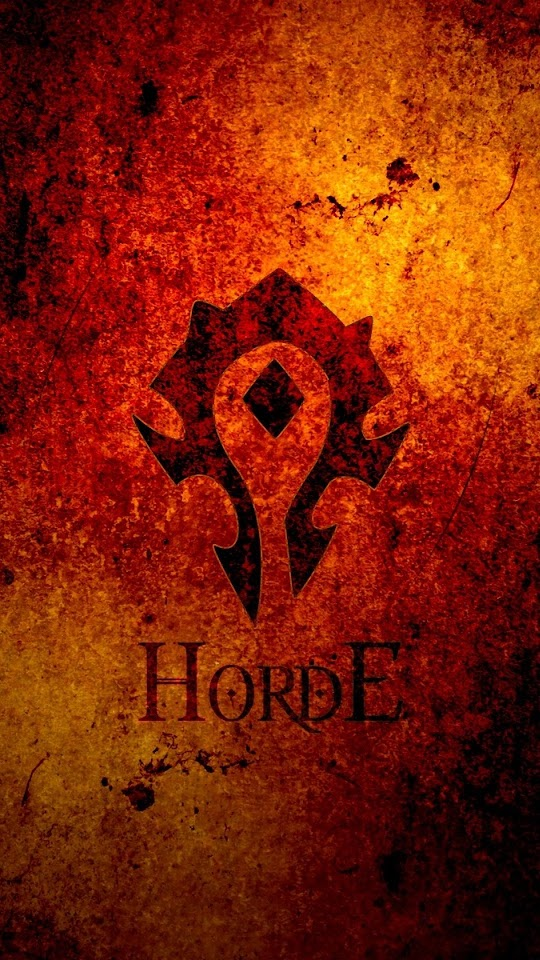 World Of Warcraft Horde   Galaxy Note HD Wallpaper