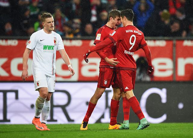Prediksi Augsburg vs Bayern Munchen Liga Jerman