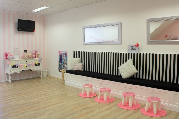 Pamper party ideas and birthday party venue
