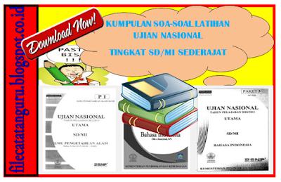 Kumpulan soal Try out SD/MI Matematika IPA dan Bahasa Indonesia