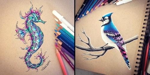 00-Nikki-Beth-Animal-Portrait-Drawings-in-different-Styles-www-designstack-co